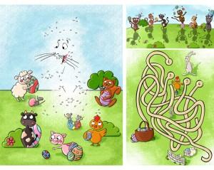 Jeux pour enfant : Pâques