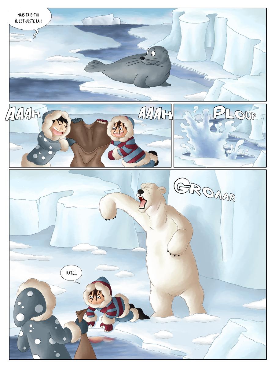 BD pour enfant aventure polaire