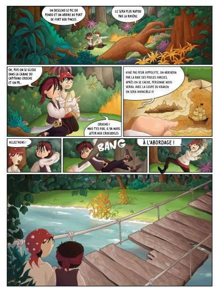 BD jeunesse : les jeux d'Hugo