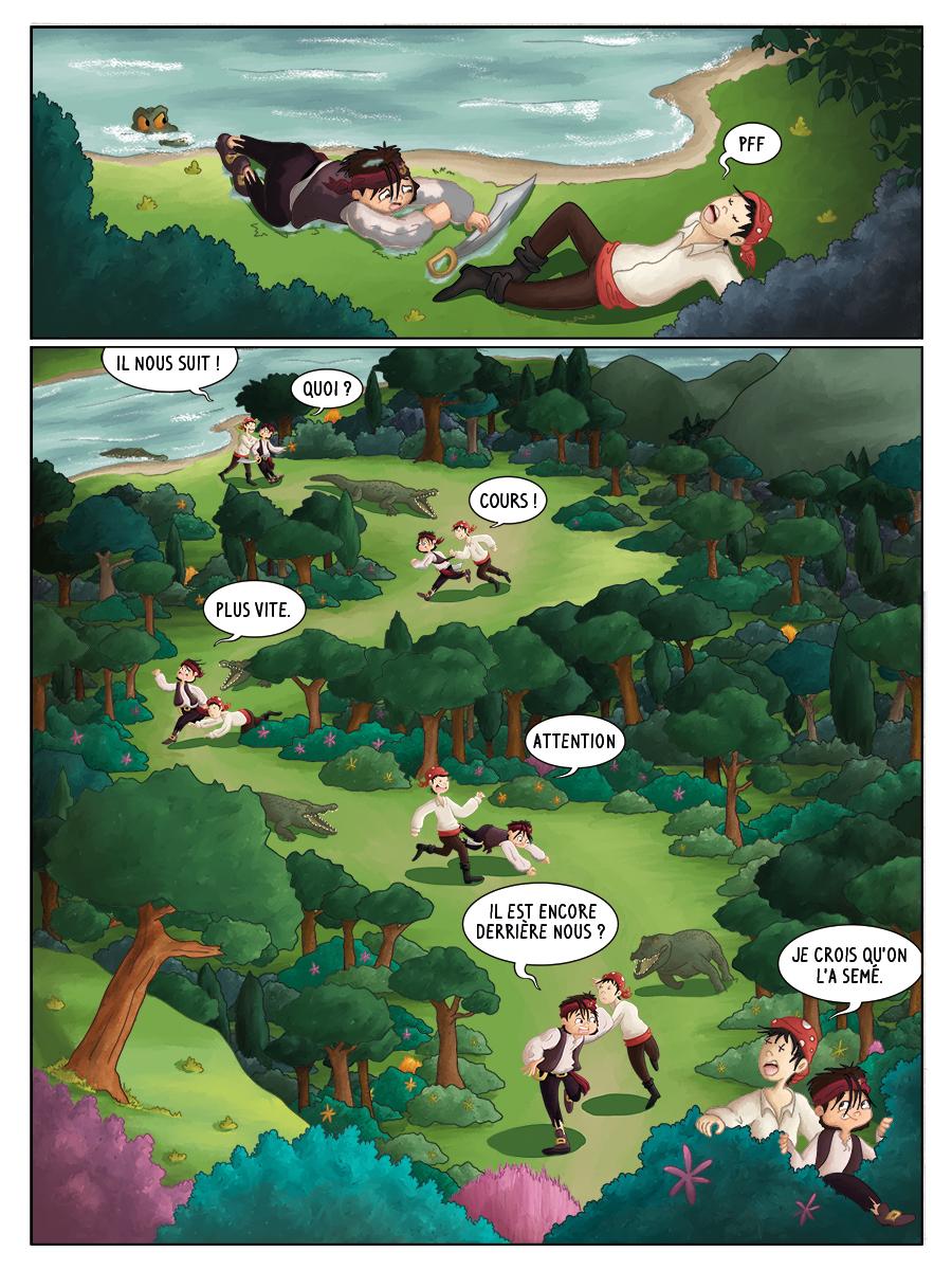 BD pour enfant Hugo et les pirates