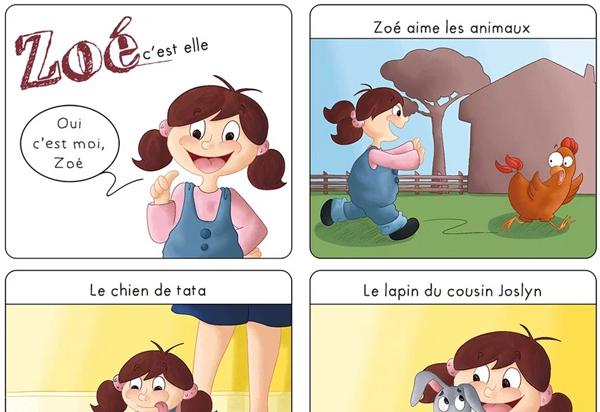 BD jeunesse Zoé Amandine Alezard