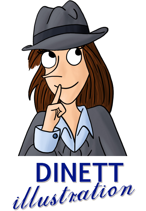 Logo site Dinett illustration