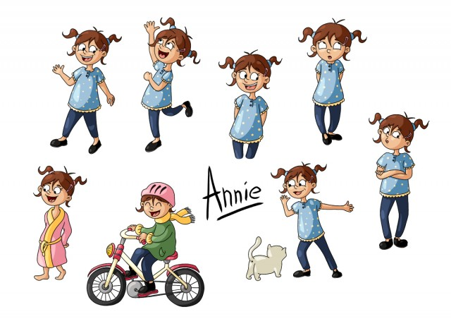 Character design : Annie