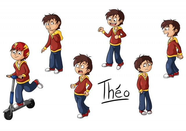 Character design : Théo