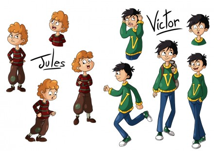 Character design : enfants
