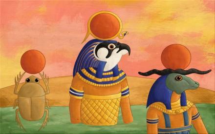Parascolaire : les Dieux d'Egypte