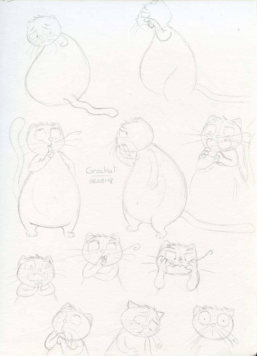 Recherches de personnage chat