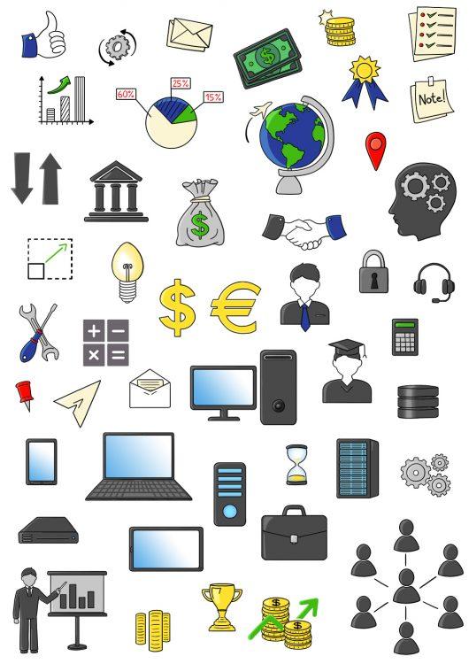 Illustration job icons