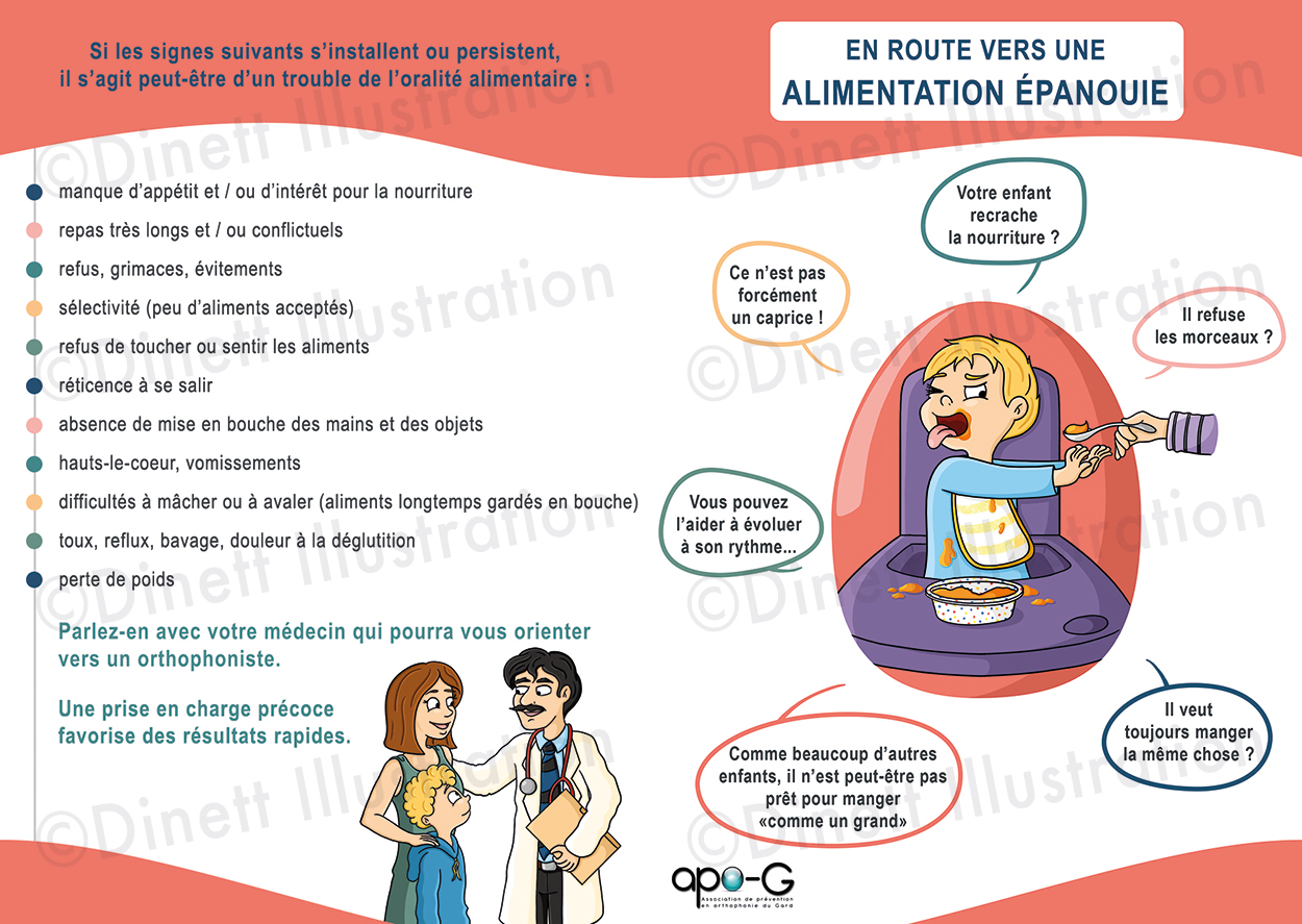 Illustration graphisme plaquette Amandine Alezard