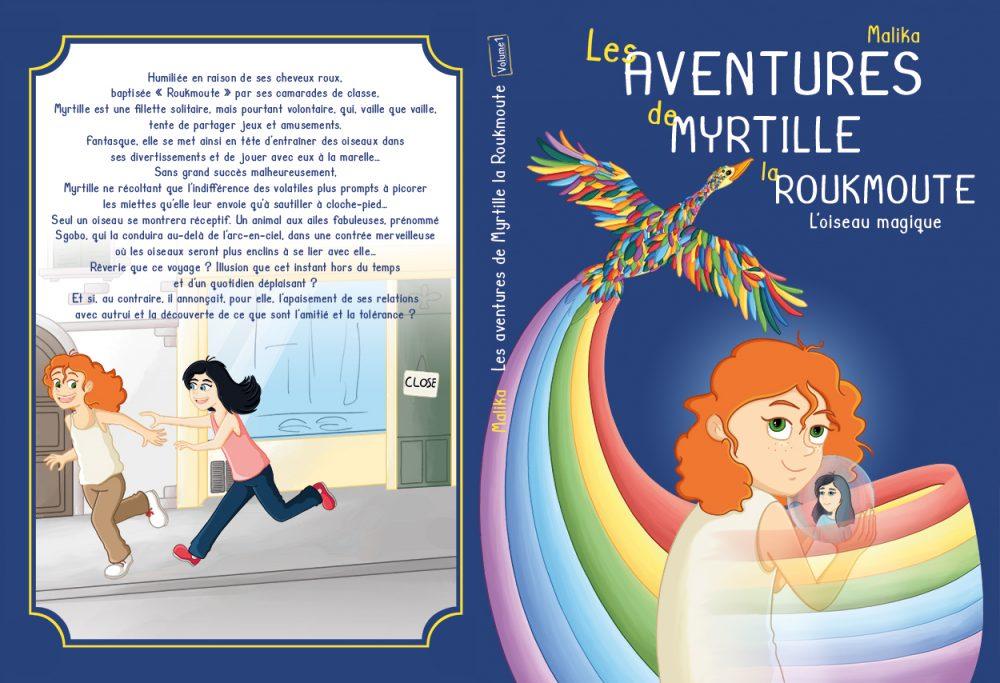 Illustration couverture roman jeunesse volume 1