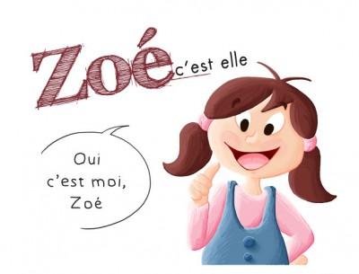 Encart BD les aventures de Zoé