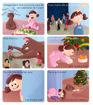 BD Zoé fête Noël