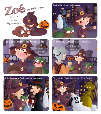 BD Zoé Halloween