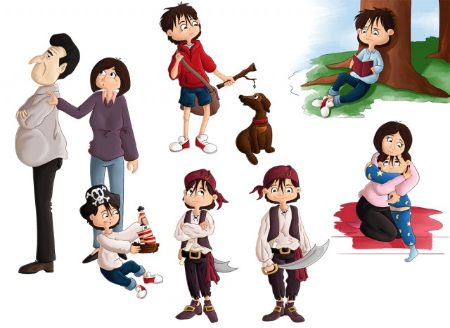 Charactere Design personnage Hugo