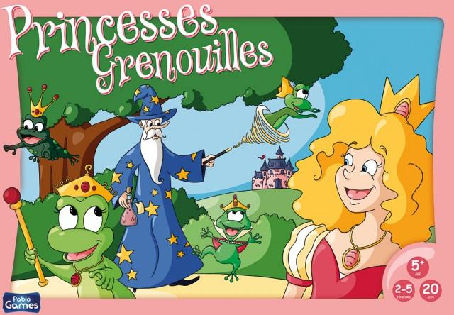 Boite jeu de société Princesses grenouilles