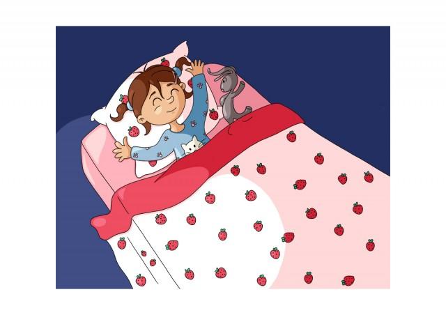 Illustration parascolaire dormir