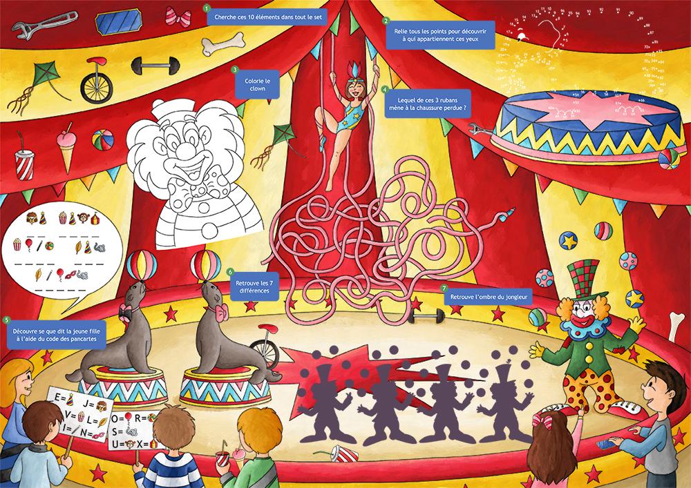 Set de jeux : le cirque