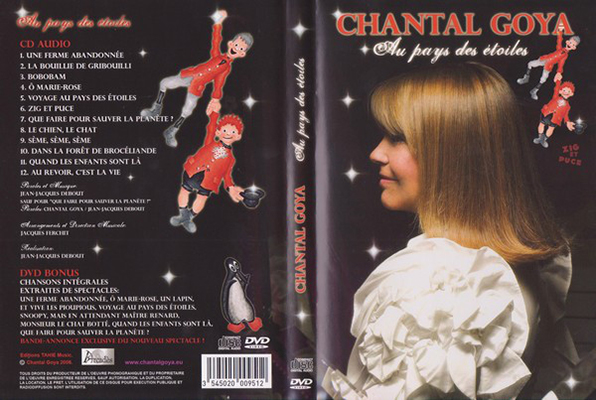 Illustration Zig et Puce DVD Chantal Goya