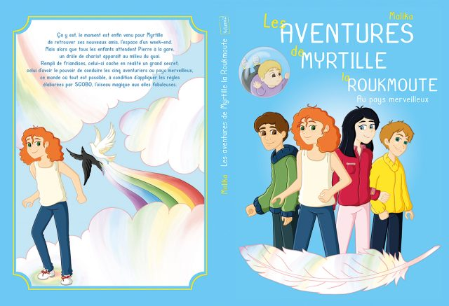 Illustration couverture roman jeunesse volume 2