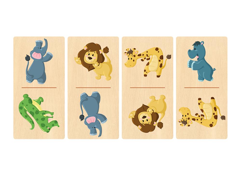 Création jeu de dominos en bois