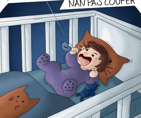 BD bébé fait des cauchemars