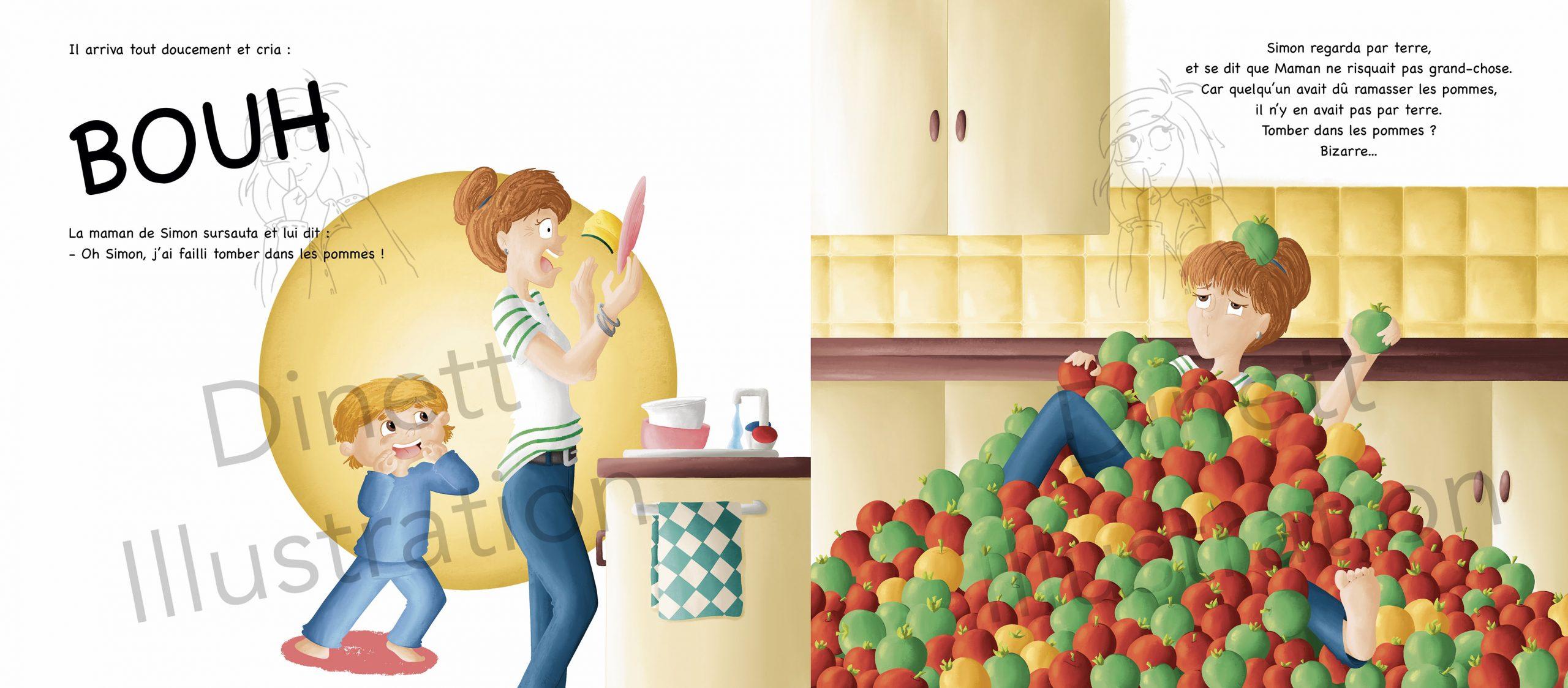 Projet livre pour enfant sur les expressions
